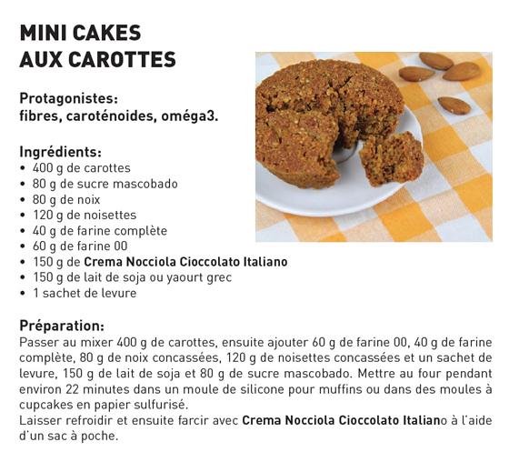 minicakes aux carottes